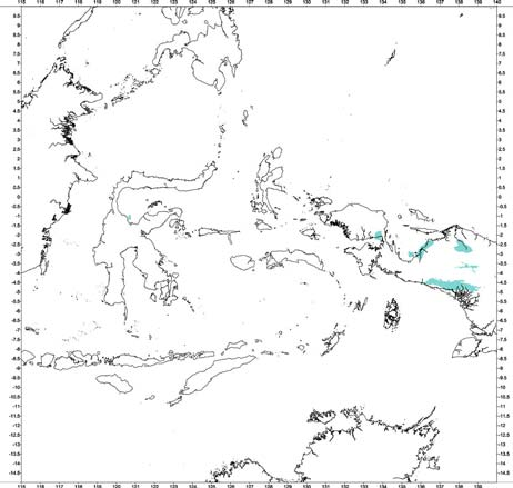 Bouguer gravity anomaly classification of Cenozoic sedimentary depocentres